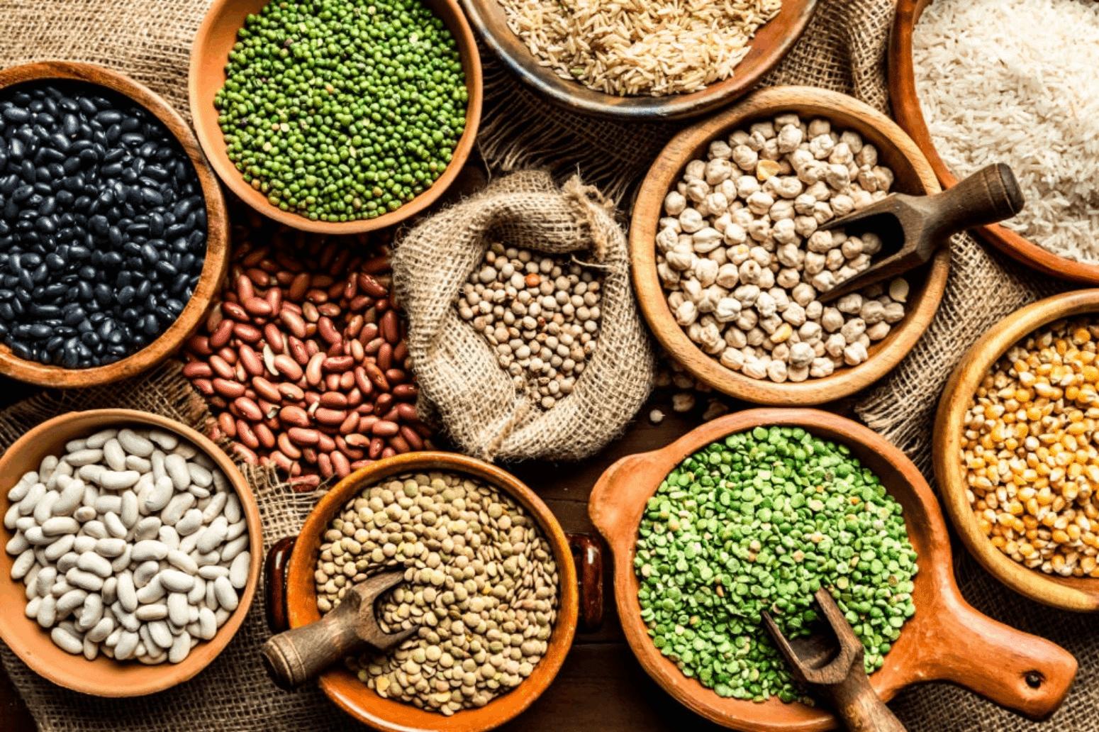 Las legumbres son una de las mejores fuentes de proteínas de origen vegetal.