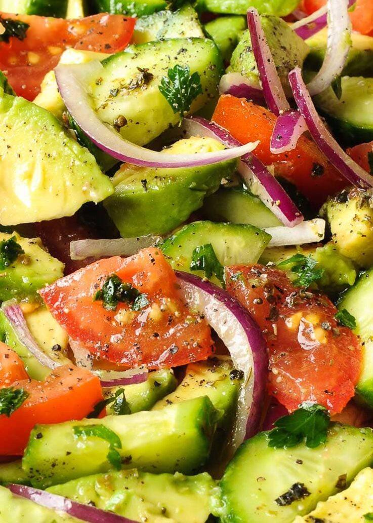 La preparación de esta ensalada no te llevará mas de 10 minutos.