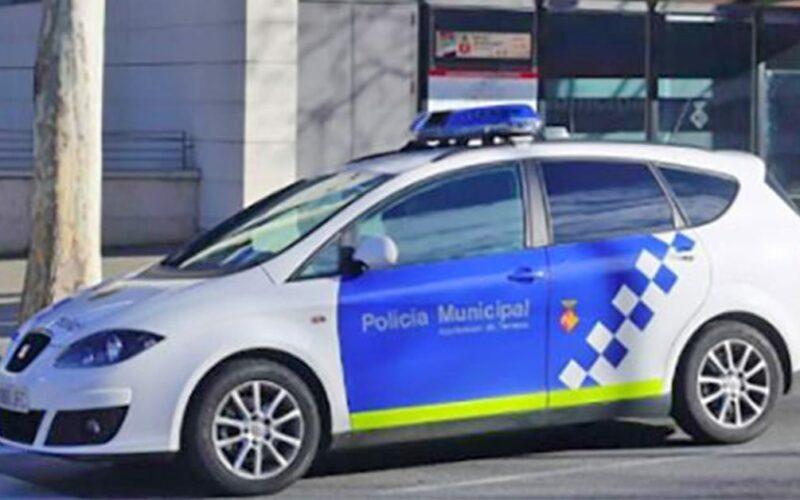 Coche de la Policia Municipal de Terrassa Barcelona