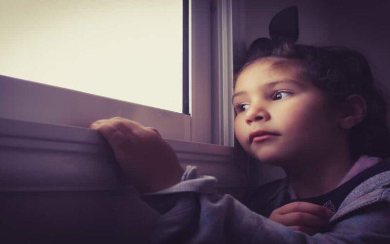 Confinamiento en niños