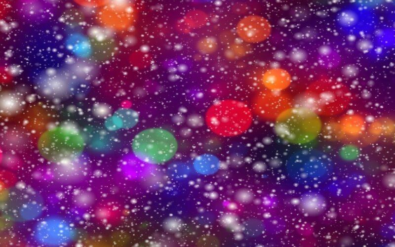 Listos para abrir su mente: La magia sanadora de las luces colores
