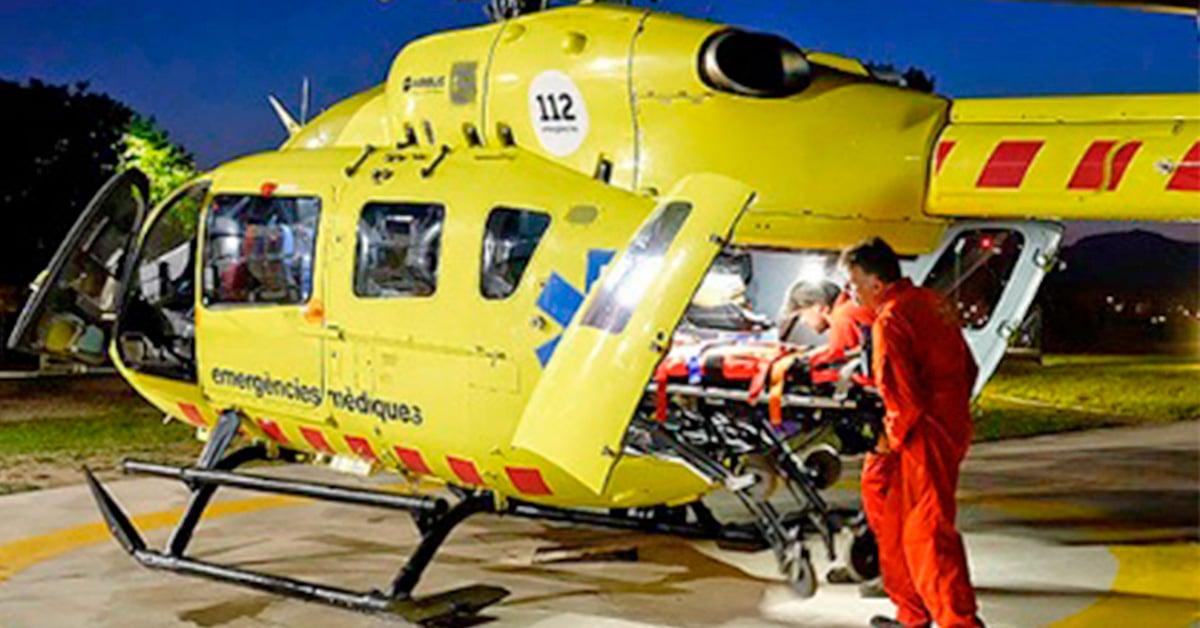 Helicóptero emergencias