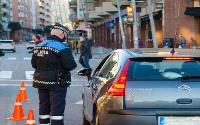 conductor detenido