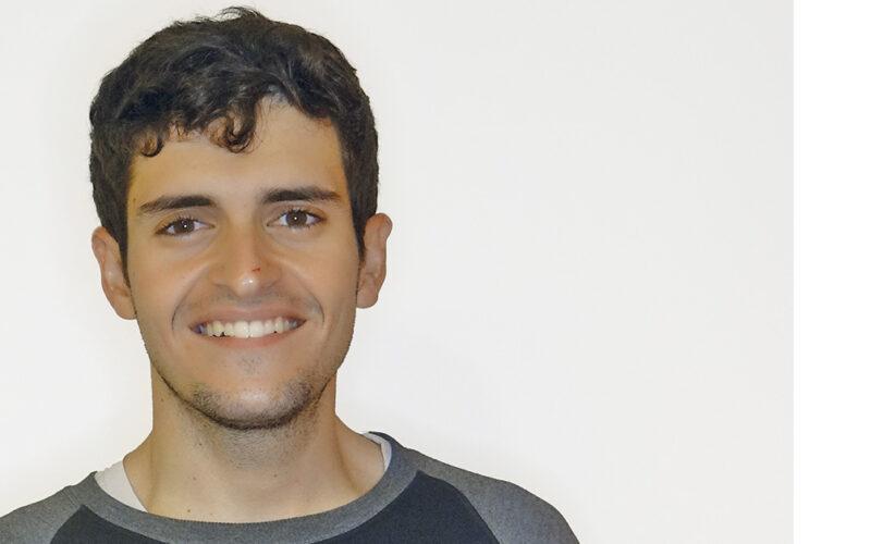 Eloi Guerrerro coordinador de las Juventudes Socialistas de Cataluña