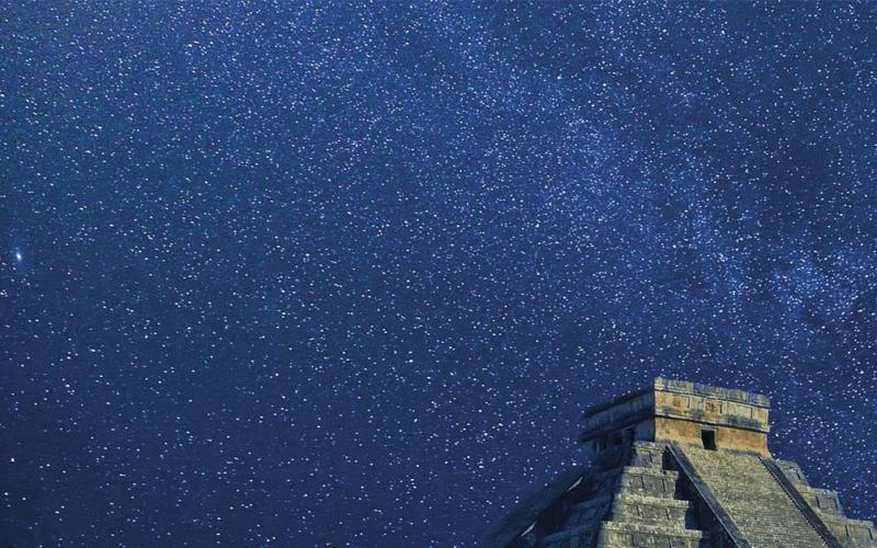 Año Nuevo Maya desde Chichen Itzá